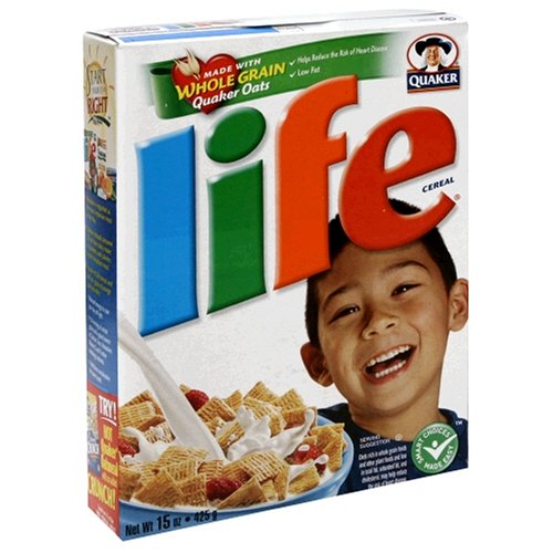 Life Cereal, 15-Ounce Box (Pack of 6)