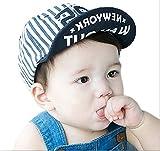 Meilleur reve(メイヤーリーブ)【選べる3色】 ベビー 赤ちゃん キッズ キャップ cap 帽子 日よけ UV ガード サイズ 調節 お出かけ (02ピンク)