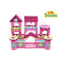 Sweets & House Innovative Chain Links Building Block Mega 1570 Pcs Toy Set For Kids Creative Build & Create Girls...