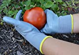 Gardening Gloves (2 pair) for Women & Men - Protective & Breathable Garden & Work Gloves. Protective Coating Prevents Cuts