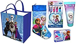 Disney Frozen Stocking, Make-Up and Accesories Gift Set (5 Pieces)