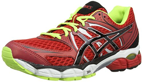 Asics Gel-Pulse 6, Scarpe sportive, Uomo, Rosso (Chinese Red/Onyx/Flash Yellow 2399), 44