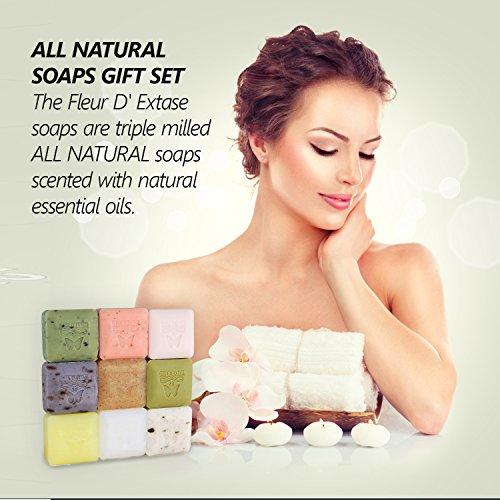 Ecstacy Soaps - Soap Box Set of 9 x 25 Gram Bars