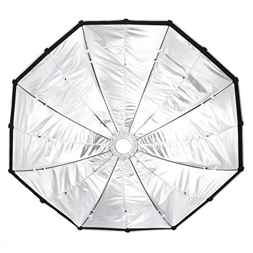 16 Rod Octagon Grid: Selens 60 Inch 16 Rods Portable Umbrella Brolly Reflector