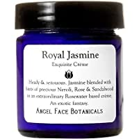 Jasmine Exquisite Facial Cream with Rosewater and Sandalwood 1.1 oz by Angel Face Botanicals