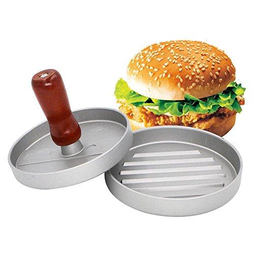 Presse à burger, Kany Aluminium Presse à hamburger Moule anti-adhésif, Patty presse Maker Idéal pour barbecue et Hamburger single press