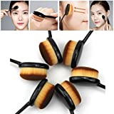 Gy Best Cosmetic Makeup Face Cream Powder Blush Makeup Tool Powder Blusher Toothbrush Brush Curve Foundation Brush