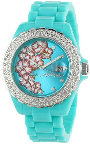Ed Hardy Women's RX-BL Roxxy Blue Watch