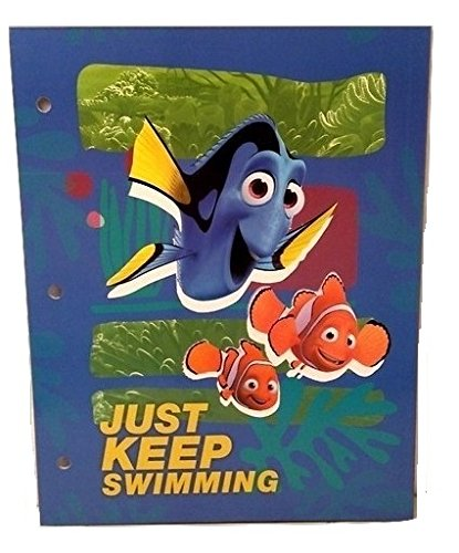 [Toddlers Finding Dory Nemo Kids Back to School Pre-school Elementary Toy Figure Folder C] (Finding Nemo Costume Homemade)