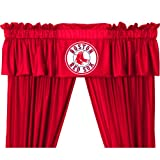 MLB Curtain Valance Team: Boston Red Sox