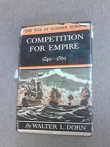 Competition for Empire, 1740-63 PDF