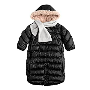 Amazon.com : 7 A.M. ENFANT Doudoune One Piece Infant Snowsuit Bunting