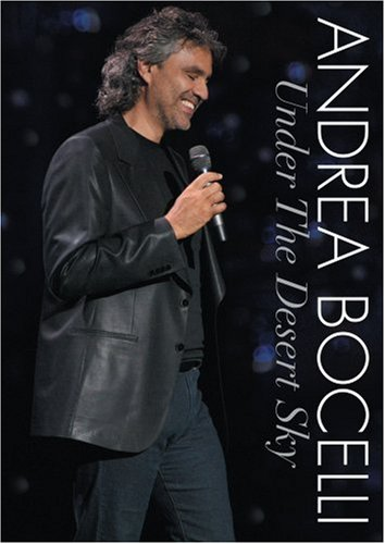 Andrea Bocelli - Under the Desert Sky [CD Included]