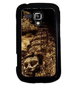 TOUCHNER (TN) Fake Smile Back Case Cover for Samsung Galaxy S Duos S7562