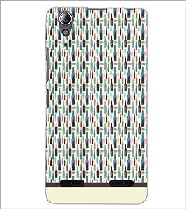 PrintDhaba Bottle Pattern D-1942 Back Case Cover for LENOVO A6000 (Multi-Coloured)