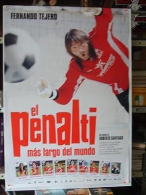 Poster cine: El penalti mas largo del mundo