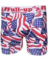 Full-Up - Sous-Vêtement Homme - Boxer Homme Microfibre modele USA