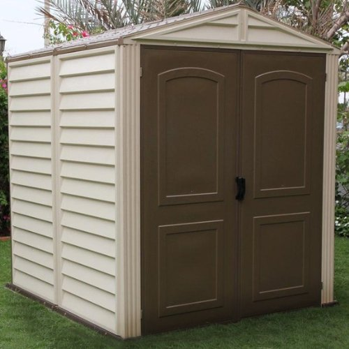 The Log Cabin Plastic Shed - 8 x 6