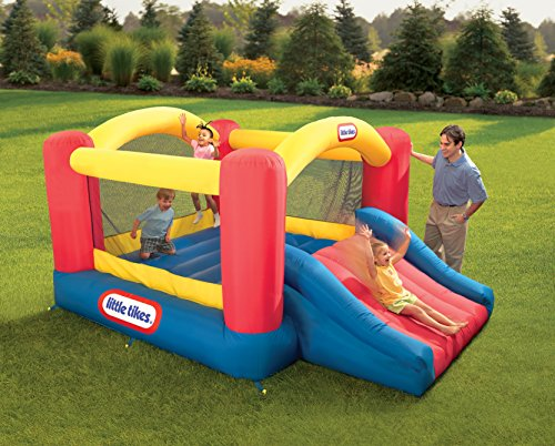 Little Tikes Jump 'n Slide Bouncer JungleDealsBlog.com