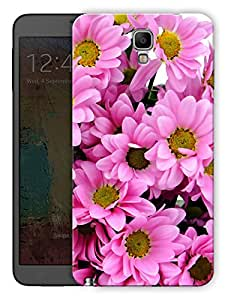 "Humor Gang Pink Flowers Printed Designer Mobile Back Cover For ""Samsung Galaxy Note 3 Neo"" (3D, Matte, Premium Quality Snap On Case)"