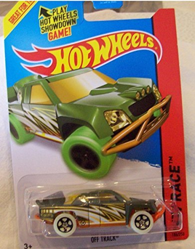 2014 Hot Wheels Hw Race Treasure Hunt - Off Track - [Ships in a Box!] - 1