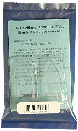 Squadron Products Mosquito Standard & Bulged Canopy