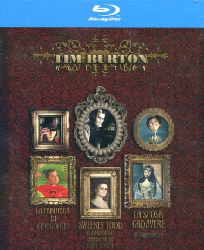 Tim Burton Collection [Blu-ray] [IT Import]