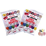 One Direction 1D Love Hearts Candy Sweets (2 Packs of 128g Bags)