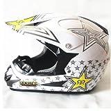 「Monster Energy Helmet」 モンスターエナジー オフロード ヘルメット ゴーグル バイク用品 オートバイ 超人気 かっこいい オリジナルデザイン S52-53 ブラック