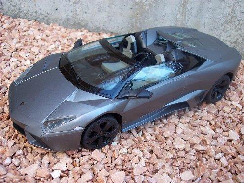 RC Lamborghini Reventón Roadster.: 1:14 – ferngesteuert mit LED-Licht – komplett Set – Farbe.: grau – LIZENZ-NACHBAU – TOP-Angebot online bestellen