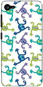 The Racoon Lean Light Monster Fall hard plastic printed back case/cover for Lenovo Z2 Plus