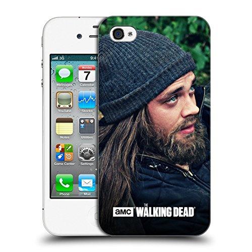 Ufficiale AMC The Walking Dead Profilo Jesus Cover Retro Rigida per Apple iPhone 4 / 4S