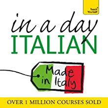 Italian in a Day  by Elisabeth Smith Narrated by Elisabeth Smith