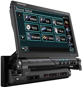 Kenwood Kvt-516 7-Inch In-Dash Navigation Ready DVD Receiver