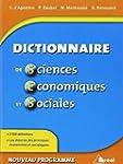 Dictionnaire de Sciences �conomiques...