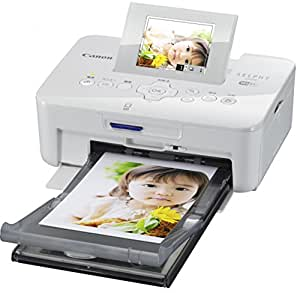Canon コンパクトフォトプリンター SELPHY CP910 WH ホワイト