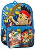 Disney Little Boys' Jake and Pirates Backpack with Lunch Kit