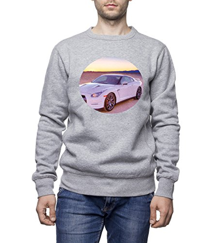 Ford Mustang Sports Car Unisex Men's UNISEX Sweatshirt Grigio Small