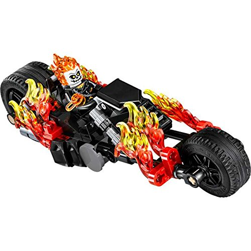 Lego Ghost Rider with Motorcycle - New for 2016 - Loose (Ghost Rider Figure compare prices)