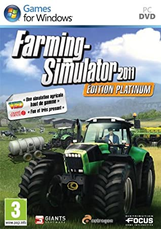 Farming Simulator 2011 Platinum Edition - French only