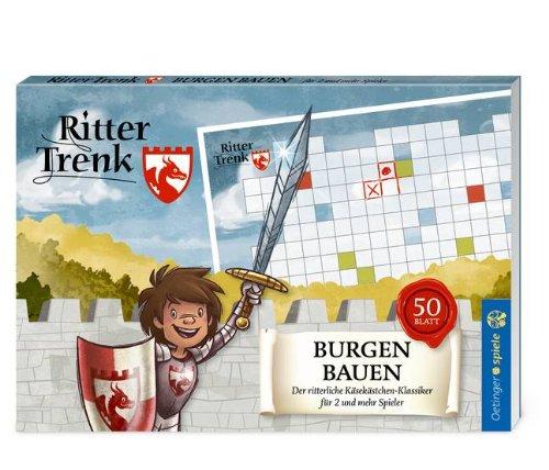 Oetinger F93195 Ritter Trenk Blockspiel Burgen bauen