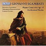 Sgambati: Piano Concerto [Francesco Caramiello, Fabrizio Ventura] [Tactus: TC 841908]