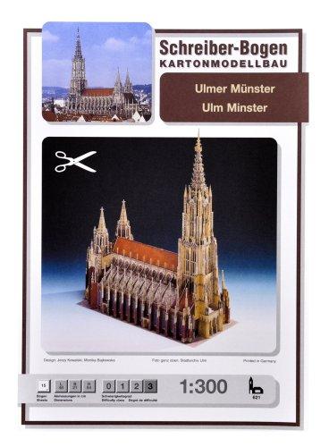 Schreiber-Bogen Ulm Cathedral (Ulmer Münster) Card Model