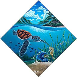 Seagrass Guardians by Ryan Sobel - Giclee Canvas Art Print: Sobel Designs: 12\