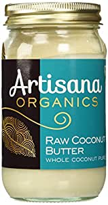 Artisana 100% Organic Raw Coconut Butter, 16 oz