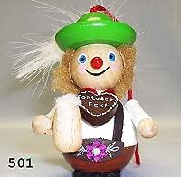 z501 - Lederhosen Hans Steinbach Christmas Ornament by Steinbach