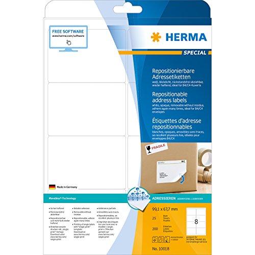 herma-10018-adressetiketten-a4-repositionierbar-papier-matt-blickdicht-991-x-677-mm-200-stuck-weiss