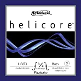 D'Addario Helicore Pizzicato Bass Single A String, 3/4 Scale, Medium Tension