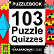 103 Puzzle Quizzes (Interactive Puzzlebook for E-readers)