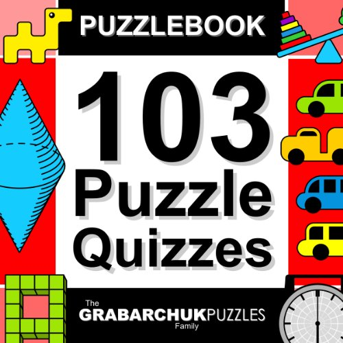 Free Kindle Book : 103 Puzzle Quizzes (Interactive Puzzlebook for E-readers)